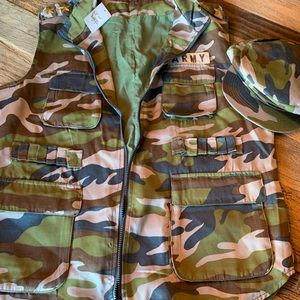 Men's Army Vest costume